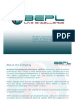 Corporate Presentation - BEPL