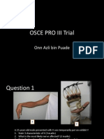 Osce Pro III Trial Question