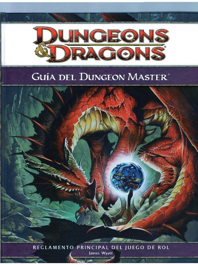 manual del dungeon master d&d 5 español pdf descargar
