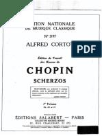 Cortot Chopin Scherzos