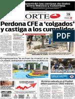 Periódico Norte de Ciudad Juárez edición impresa del 19 abril del 2014