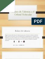 Enlace de Valencia y El Orbital Molecular