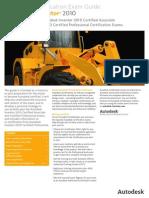 Autodesk Inventor 2010 Exam-guide 0709 Env3