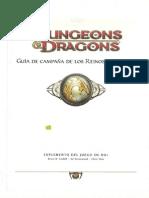 D&D 4 Ed - Guia de Campaña de los Reinos Olvidados