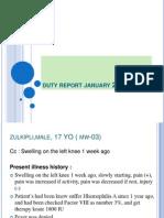 duty report, Januari 22- 2014.ppt