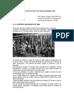 EL DÍA INTERNACIONAL DE LOS TRABAJADORES (III)