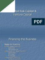 Informal Risk Capital & Venture Capital