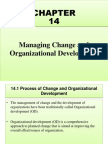 Managing Change and Organizational Development