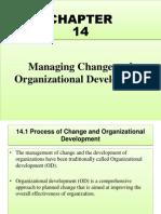 Managing Change and Organizational Development