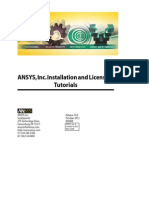 ANSYS Installation Tutorial