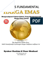 Buku Analisis Fundamental Harga Emas PREVIEW