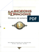 D&D 4 Ed - Manual de Monstruos