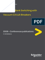 Capcitance Switching With Vacuum Circuit Breaker