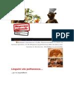 Linguini Ala Puttaneska