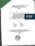 evaluasi performa turbin uap