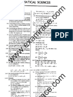 Mathematical Sciences Study Material 1