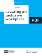 An Employer s Guide to Creating an Inclusive Workplace