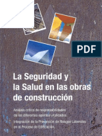 Seguridad y Salud en Las Obras de Construccion