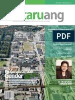 Buletin TATA RUANG. Edisi Januari-Februari 2011. Pengarusutamaan Gender dalam Penyelenggaraan Penataan Ruang dan Implementasinya dalam Pengembangan Infrastruktur dan Permukiman