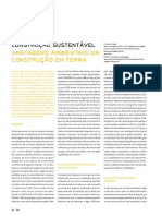 Vantagens ambientais da construção em terra - Const terra - CM
