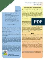newsletter 1 a april 20-24