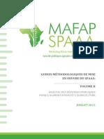 Guides méthodologiques de mise en œuvre du SPAAA  Volume II – Analyse des dépenses publiques et alimentaires