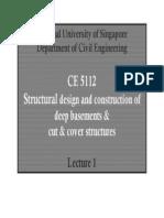 Ce5112 Chap1
