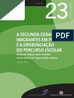 A Segunda Geração de Imigrantes em Portugal e a diferenciação do Percurso_tese_23