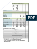 Hydraulics pump calculation