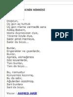 Ahmet Arif - Şiirleri