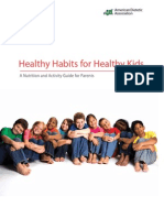 Healthy Habits Childrens