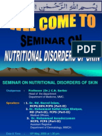 Nutritional Disorders of Skin