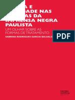 Lingua e Sociedade Nas Paginas Da Imprensa Negra Paulista