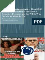 ethics in collegiate athletics presentation- final