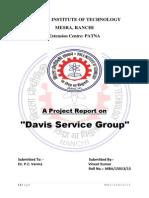 Davis Service Group VINEET KUMAR