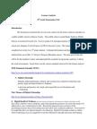 learner analysis  for ergonomics