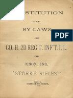 Starke County Rifles 1895