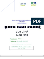 Rapport de Stage Auto Hall