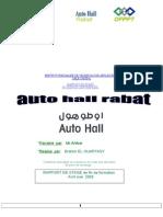 Rapport de Stage Auto Hall