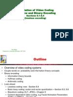 Video Processing Communications Yao Wang Chapter8a