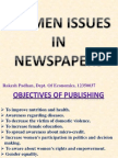 Women issues in Newspapers in India