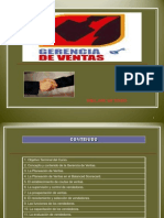 Gerencia de Ventas Power Point Actualizado