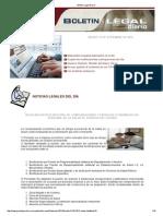 Boletin Legal Diario 120913