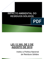 Consorcio realiza discussão do tema IMPACTO AMBIENTAL DOS RESIDUOS SOLIDOS