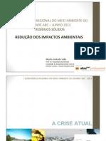 Consorcio realiza 1º CONFERÊNCIA REGIONAL DO MEIO AMBIENTE