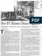 """""""Sci-Fi Rises Once Again"""" with 1994's """"Stargate"""""""