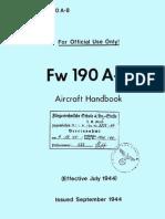 Handbuch FW-190 A8