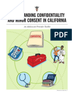 Adolescent Confidentiality Toolkit