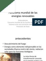 Panorama Mundial de Las Energias Renovables