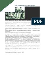 Revolutia Lui Tudor Vladimirescu in Documente